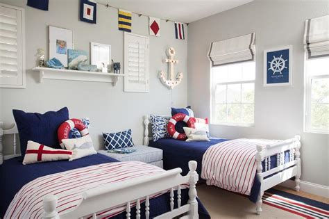 gray  blue boys room  gray plank walls