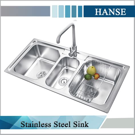 the correct order of a three compartment sink is 3 compartment sink right drain board left drainboard