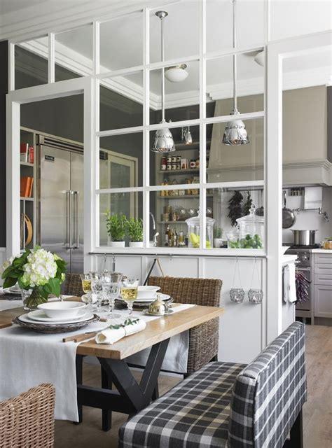 cuisine nature et d ouverte open kitchen cuisine ouverte avec verrière дизайн інтер