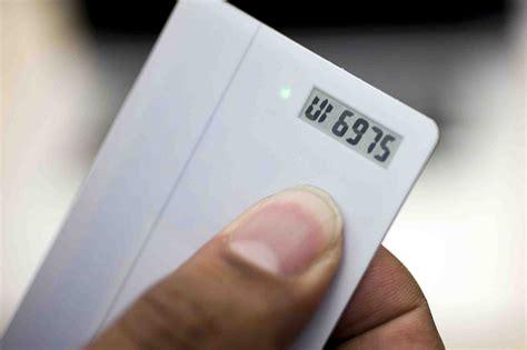 neat digital coin card  swipes    plastic