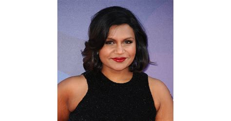 mindy kaling best bob haircuts for all hair types