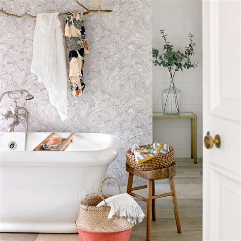wallpaper in bathroom ideas bathroom wallpaper ideas waterproof bathroom walllpaper