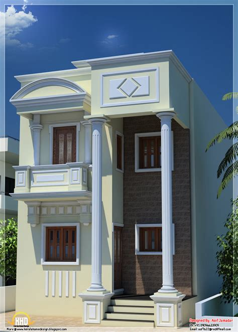 two house plans with front porch june 2012 kerala home design and floor plans