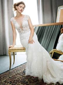 wedding dresses the wedding dress trend of 2017 plunging neckline