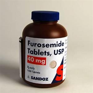 Furosemide  40mg  1 000 Tablets  Bottle