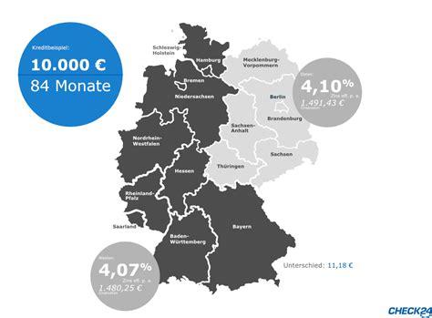 Wie Viel Zinsen Zahlt Für Einen Kredit by Das Zahlen Die Deutschen F 252 R Ihren Kredit 252 Ber Check24