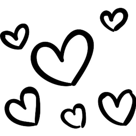 Subscribe to our email list & get the free download. Small hearts - Free signs icons