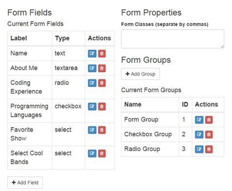 angular dynamic form angular module for dynamic form generator angular script
