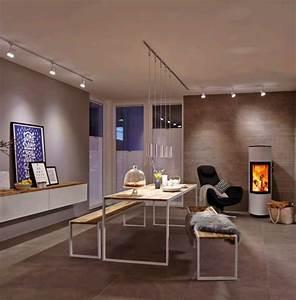 Spot Plafond Salon : spot pour clairage de tableaux clairage sur rail ~ Edinachiropracticcenter.com Idées de Décoration