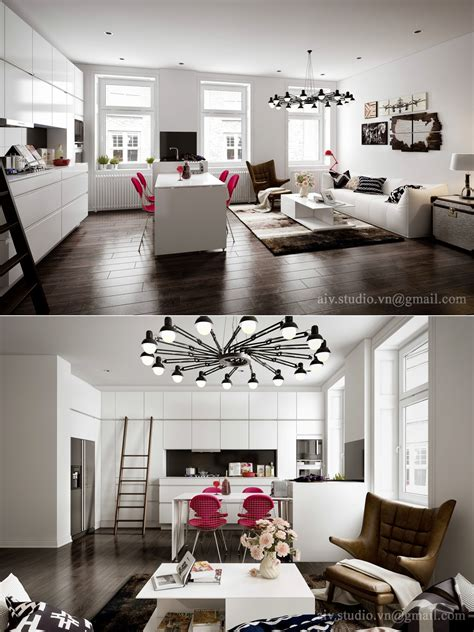 studio apartment interiors inspiration architecture design