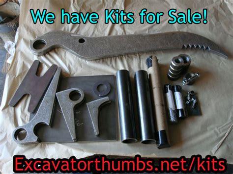 excavator thumb kits excavator thumb attachments