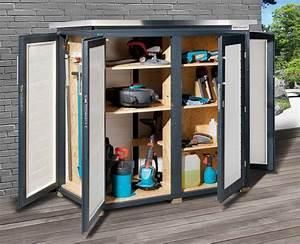 Gartenschrank Selber Bauen : gartenschrank ger teschrank 18mm weka teras schwedenrot 160x75cm bei ~ Whattoseeinmadrid.com Haus und Dekorationen