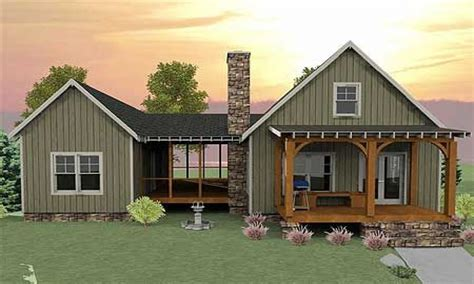 Small House Plans With Screened Porch Small House Plans