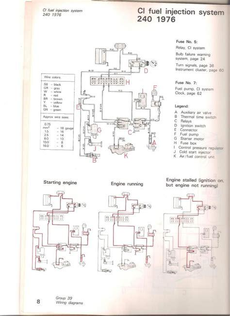 volvo 240 fuel relay wiring diagram 40 wiring