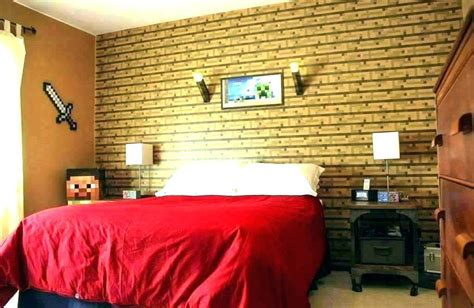 Cool Decorating Ideas For A S Room by Minecraft Bedroom Ideas In Real Cool Room Designs