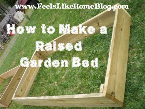 how to build raised garden beds home ideas