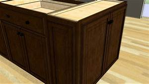 Kitchen, Design, Tip, -, Designing, An, Island, With, Wall, Cabinet, Ends
