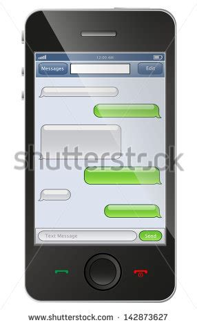 Sms Template Iphone by Text Message Stock Photos Images Pictures