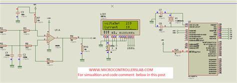 ac voltage measurement  pic microcontroller