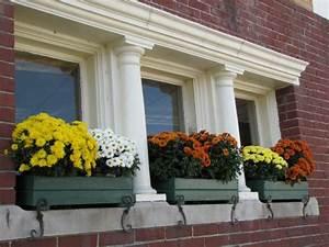 bac a fleurs sur le rebord de la fenetre 50 idees With rebord de fenetre exterieur