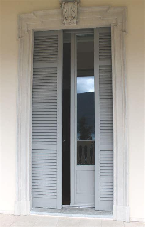 persiane da interno villa stile liberty serramento in legno larice lamellare