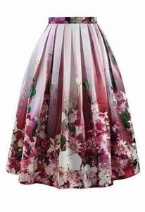 Neon Pink Midi Skirt With Palm Tree Print Neon Pink £11 99