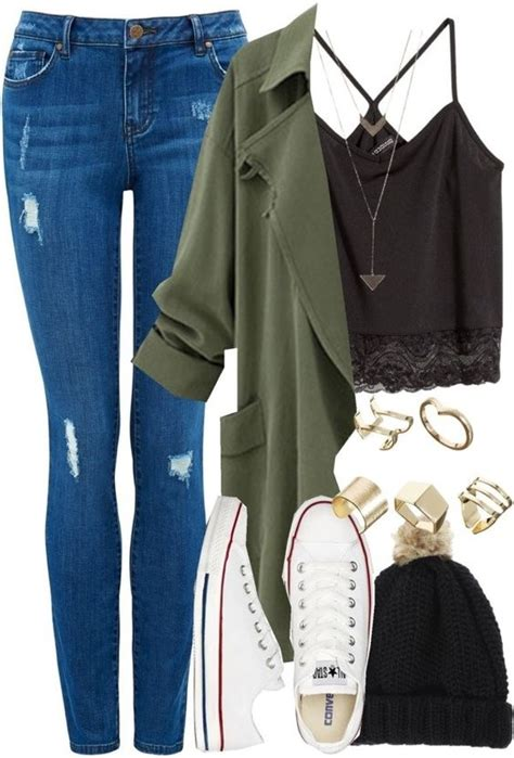 Stylish ways to wear a blazer in college outfits - myschooloutfits.com