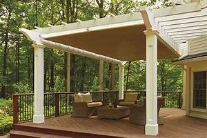 This, Hybrid, Pergola, With, A, Shadefx, Retractable, Pergola, Canopy, Is, An, Example, Of, Great, Outdoor