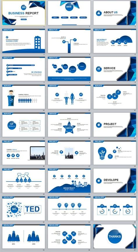 business infographic  blue year chart timeline