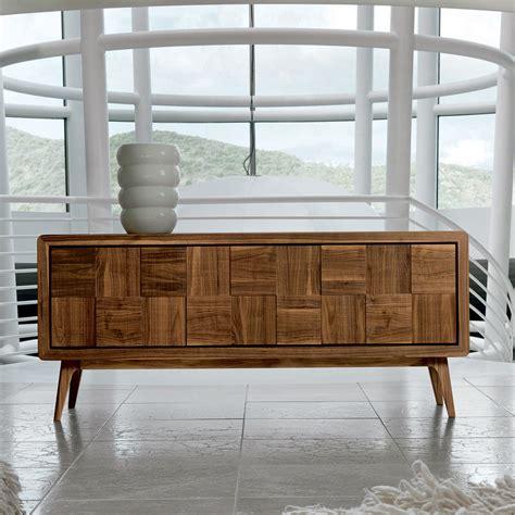 credenze decorate credenza con 3 ante in legno massello design moderno nensi
