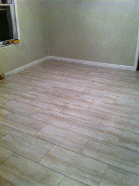 Groutable Vinyl Tile In Bathroom by New Flooring Project Using Groutable Luxury Vinyl Tiles