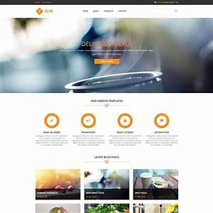 Grill Is Free Restaurant Website Template Bootstrap