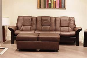 Seats Sofas : stressless buckingham 3 seat low back sofa paloma chocolate leather by ekornes ~ Eleganceandgraceweddings.com Haus und Dekorationen