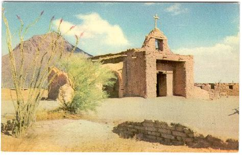 arizona  tucson  adobe church