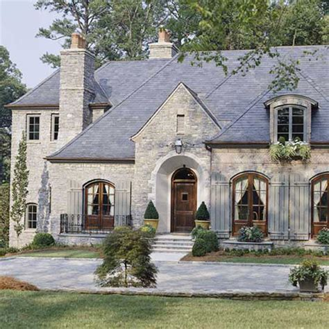 French Country Style Home, I Like! Great Example Of What