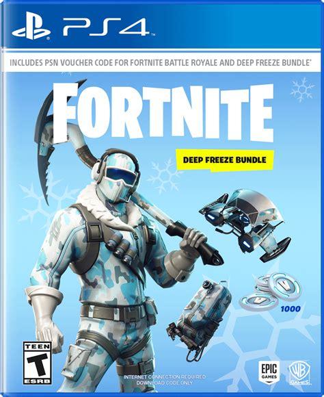 fortnite deep freeze bundle playstation  gamestop