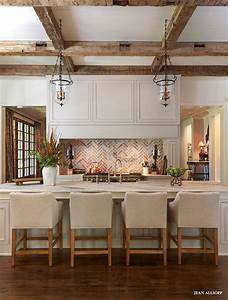 best 25 modern rustic kitchens ideas only on pinterest With kitchen colors with white cabinets with rustic bathroom wall art