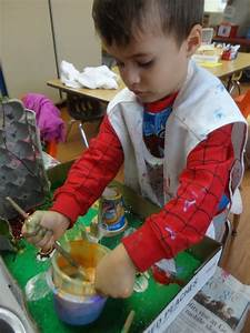 3d collage projects from room 3 preschool child care