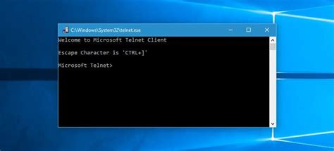 We answer: What is Telnet in Windows 10 and how to use it?