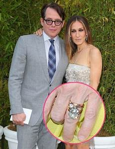 Sarah jessica parker hollywood and engagement rings on for Sarah jessica parker wedding ring