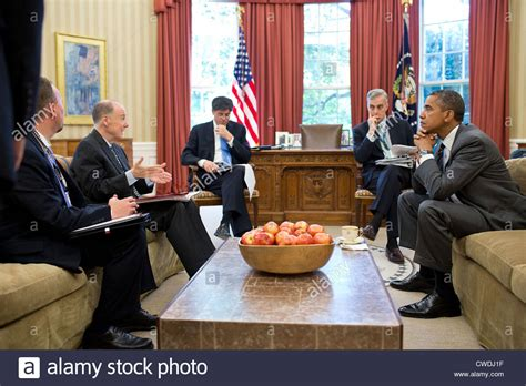 obama in the office president barack obama meets with senior advisors in the