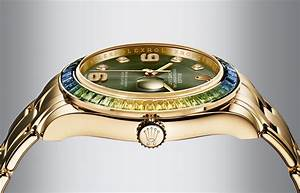 Rolex Uhr Herren Gold : die oyster perpetual datejust pearlmaster von rolex ~ Frokenaadalensverden.com Haus und Dekorationen