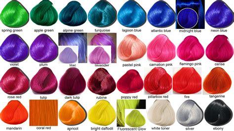 Temporary Pastel Hair Dye Crazy Colour Vs La Riche