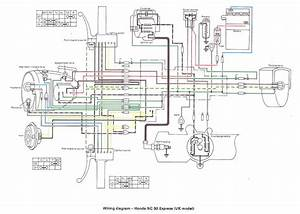 Wiring Diagrams  U00ab Myrons Mopeds