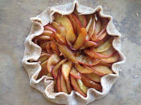 clemence cuisine apple galette recipe dishmaps