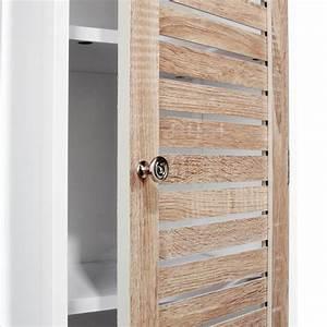 Colonne Salle De Bain Bois : colonne de salle de bain en bois 173cm blanc ~ Teatrodelosmanantiales.com Idées de Décoration
