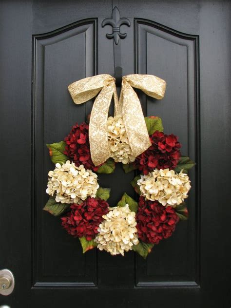 wreath christmas wreaths flower winter merry holiday found gorgeous via crafts