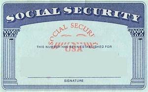 fake birth certificate template blank social security card template card templates free
