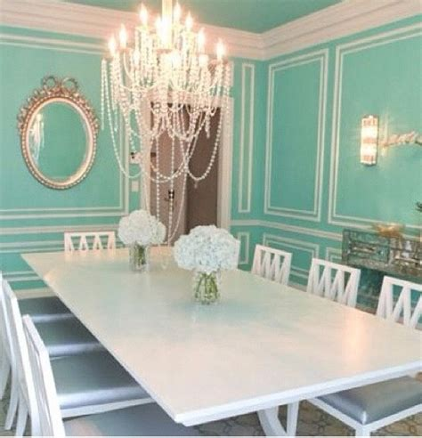 look at this tiffany blue dining room decor ideas