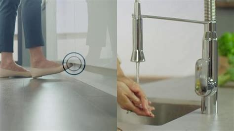 FootControl   Hands Free Kitchen Faucet   GROHE